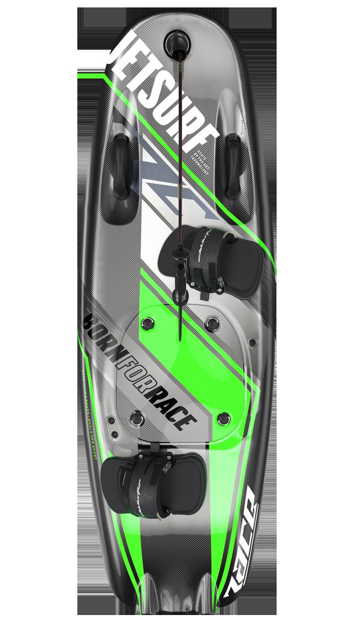 jetsurf race born for race verde tabla