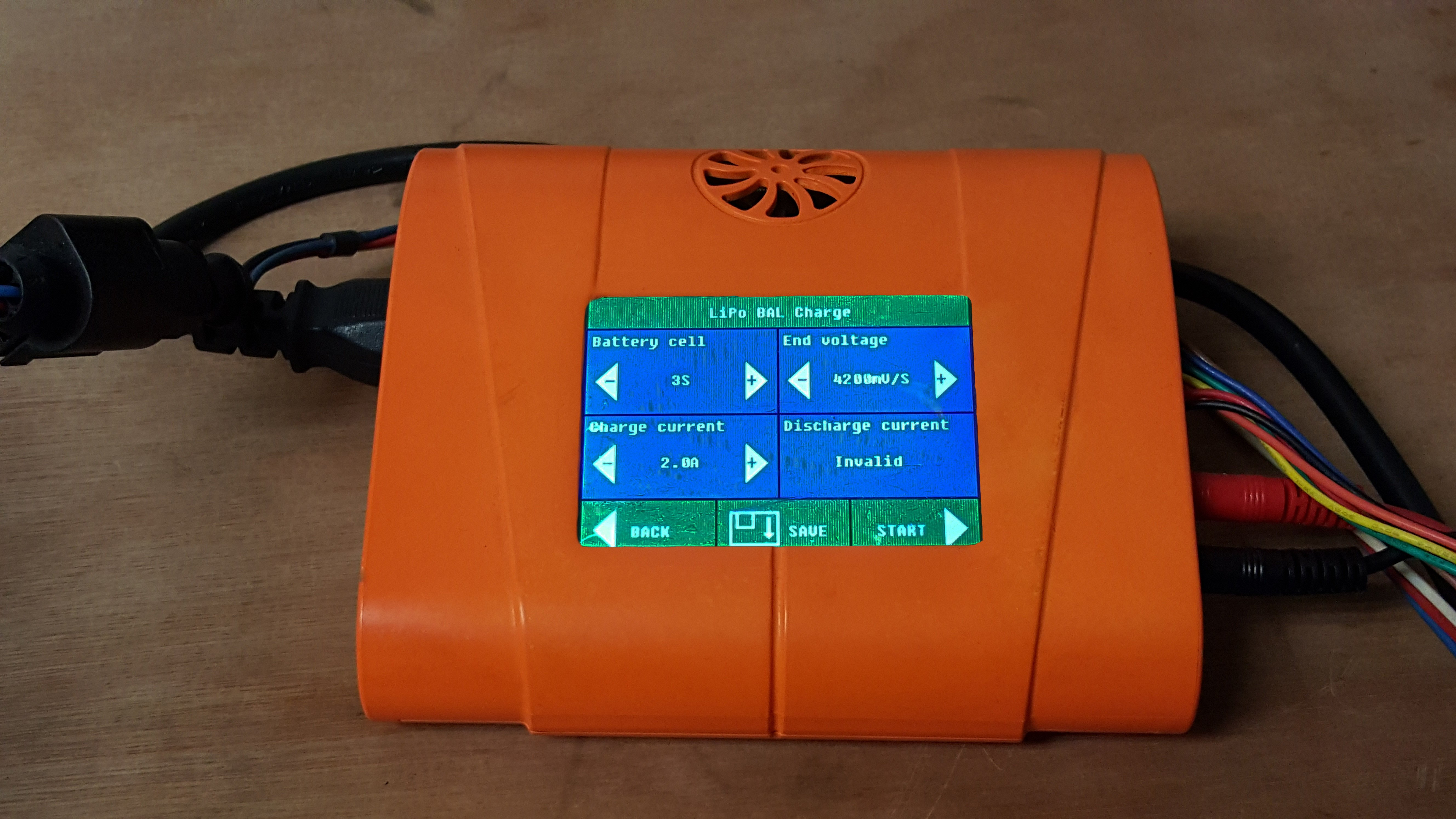 configuraciones bateria mayo