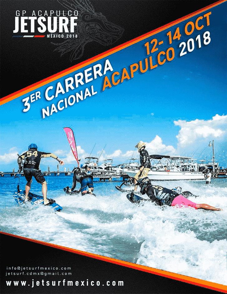Carrera Jetsurf Acapulco Noviembre 2018